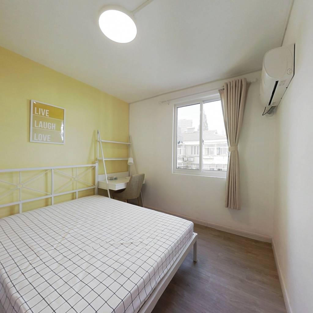 合租·南阴阳营 3室1厅 北卧室图