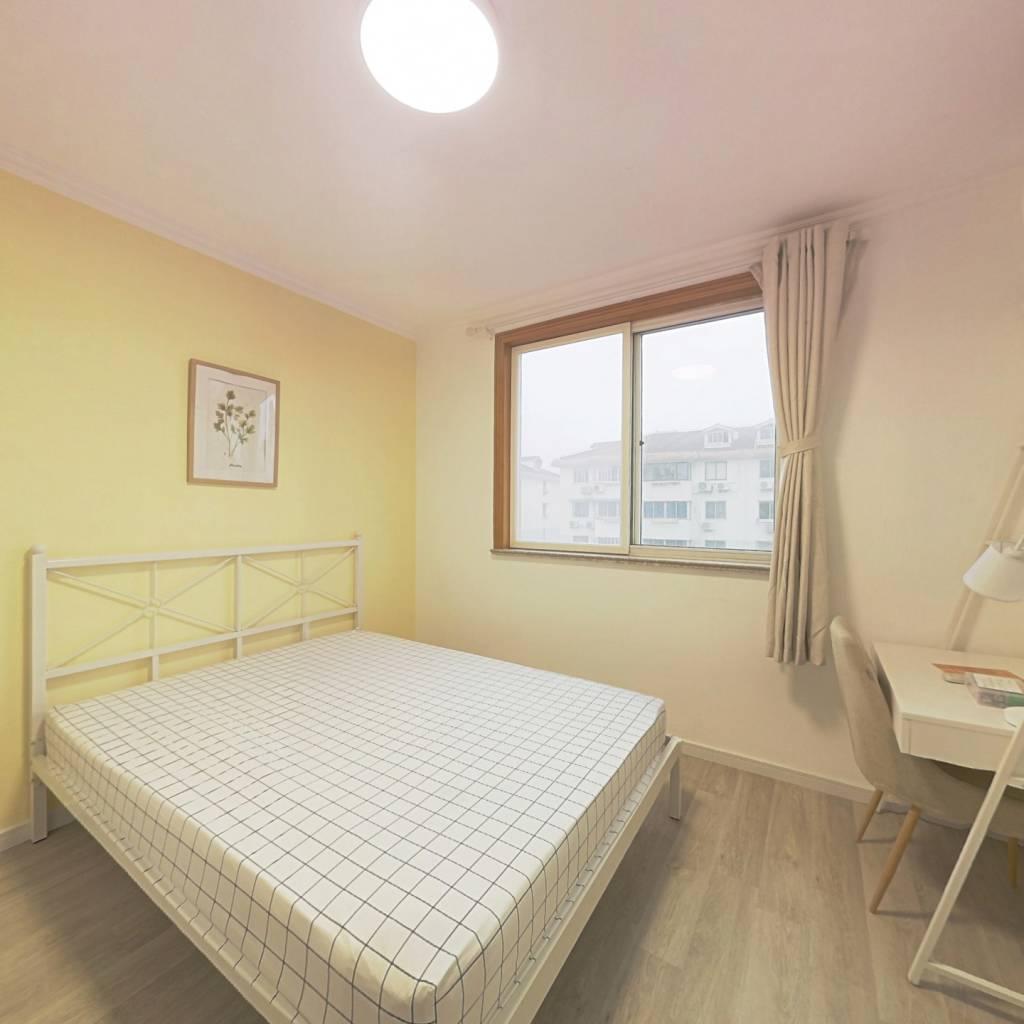 合租·民乐社区南苑六村 4室1厅 北卧室图