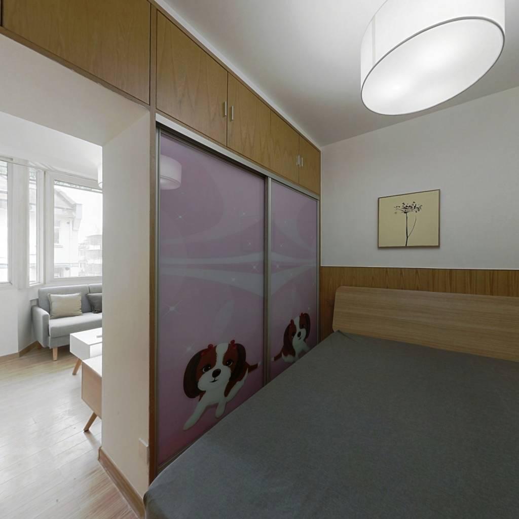 整租·皮市巷 2室1厅 南北卧室图