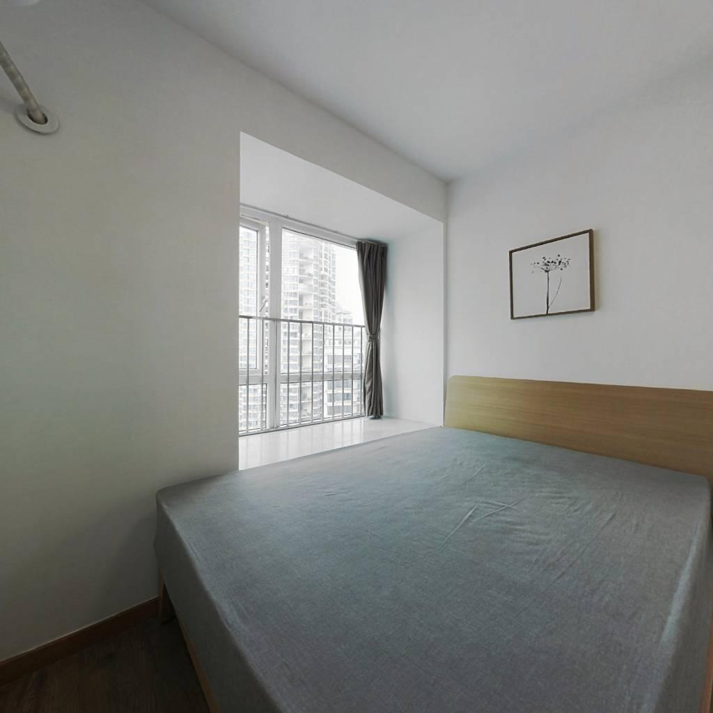 整租·越海家园 1室1厅 东北卧室图