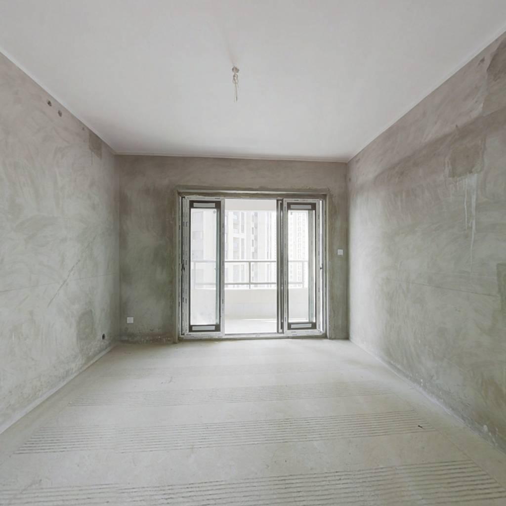 鲁能领秀城 清水电梯房 清水房 自由设计装修