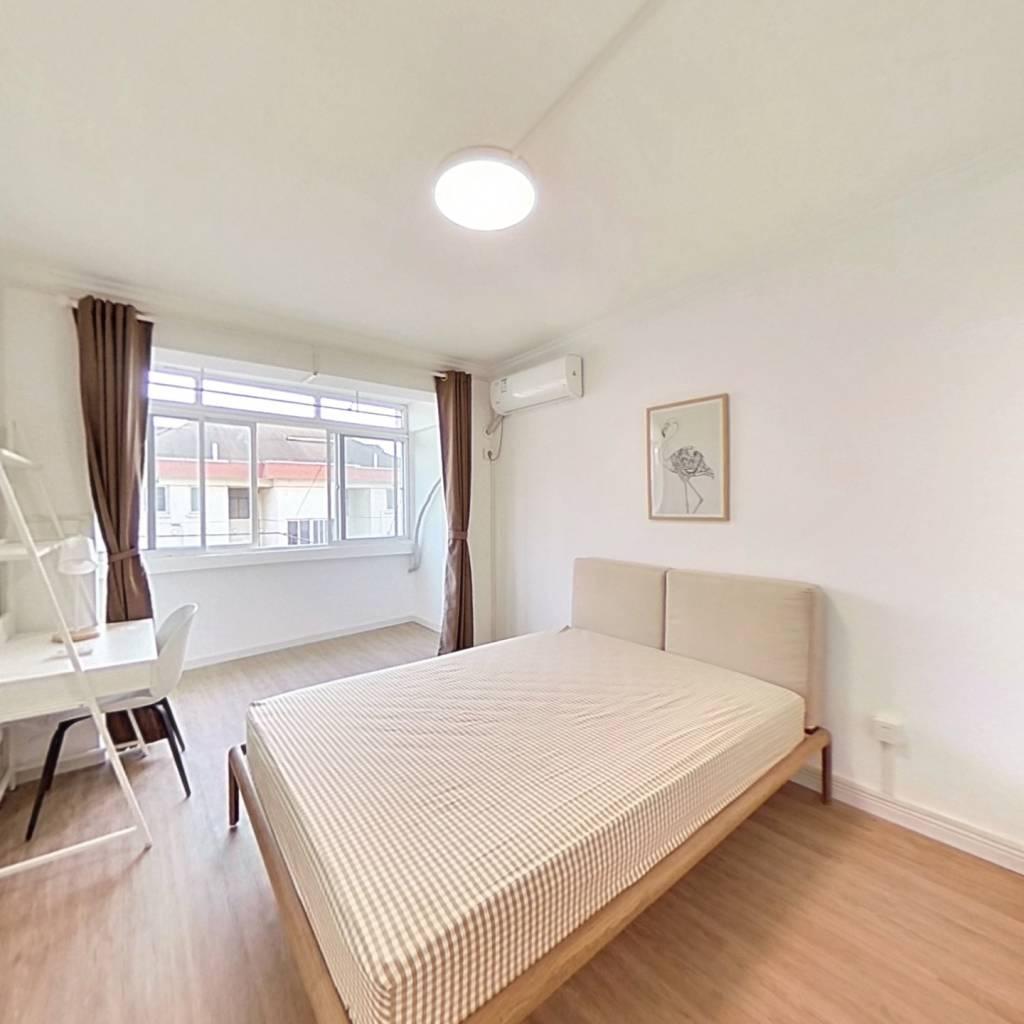 合租·园艺新村 3室1厅 南卧室图