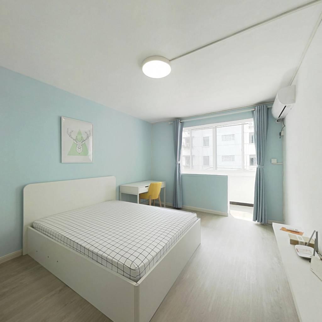 整租·长海二村 1室1厅 南卧室图