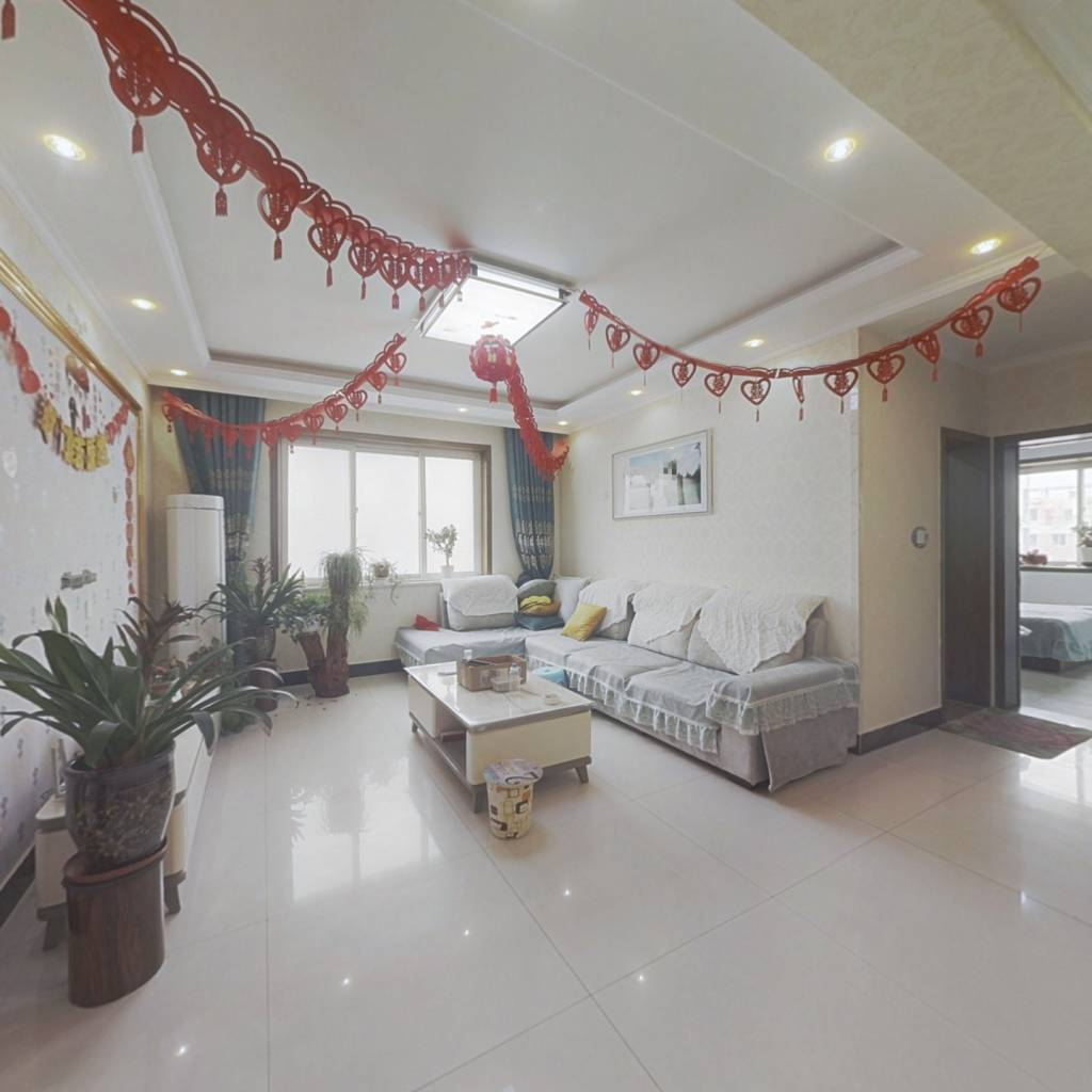 烨京 新装修三室 可做婚房 双阳卧室  有钥匙 可贷款