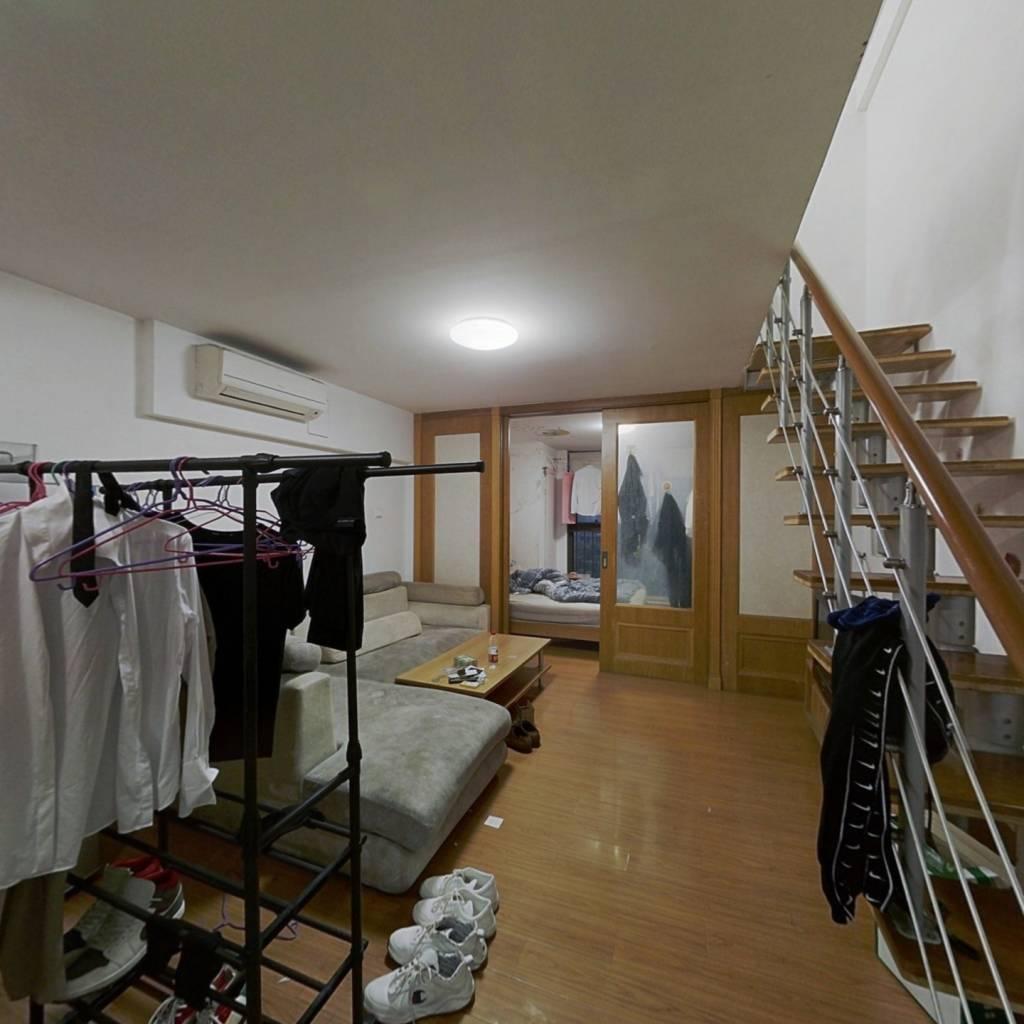 兆丰路地铁口复式住宅,4房2挺2卫,精装修