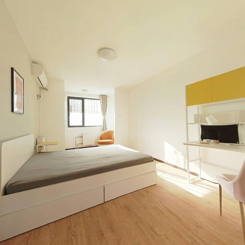 合租·北花园小区1号院 3室1厅 北卧室图