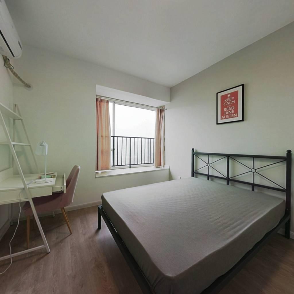 合租·清水路苑 3室1厅 西卧室图