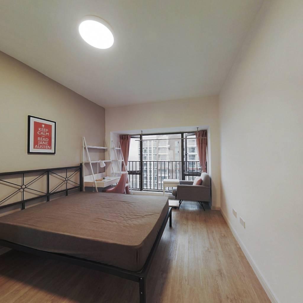 合租·锦荟PARK 5室1厅 南卧室图