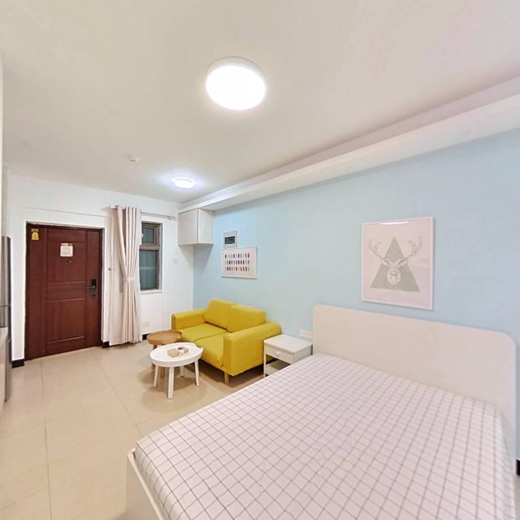 整租·托乐嘉贵邻居 1室1厅 西卧室图