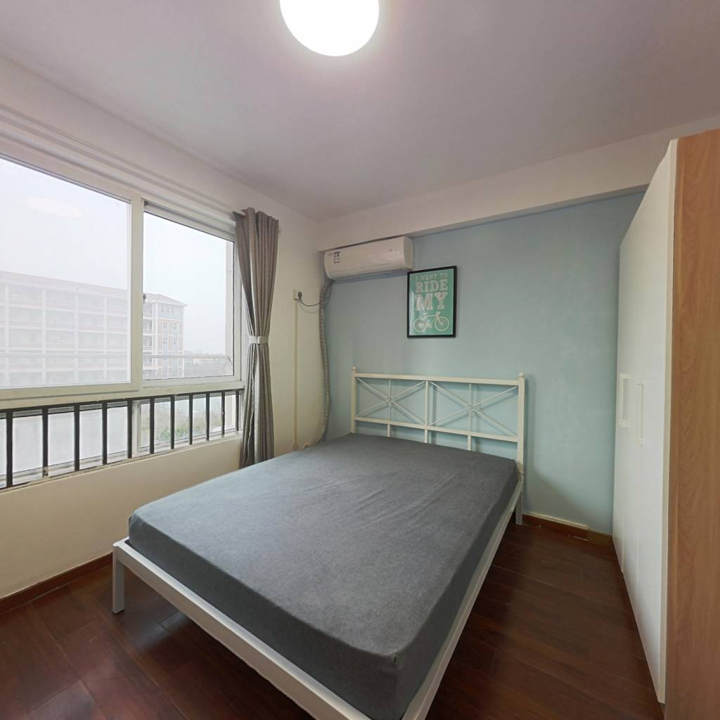 合租·聚缘中庭 3室1厅 北卧室图