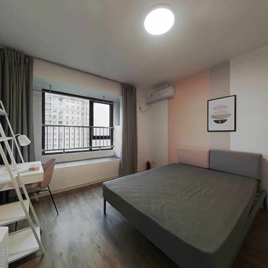 合租·紫金西苑 4室1厅 南卧室图