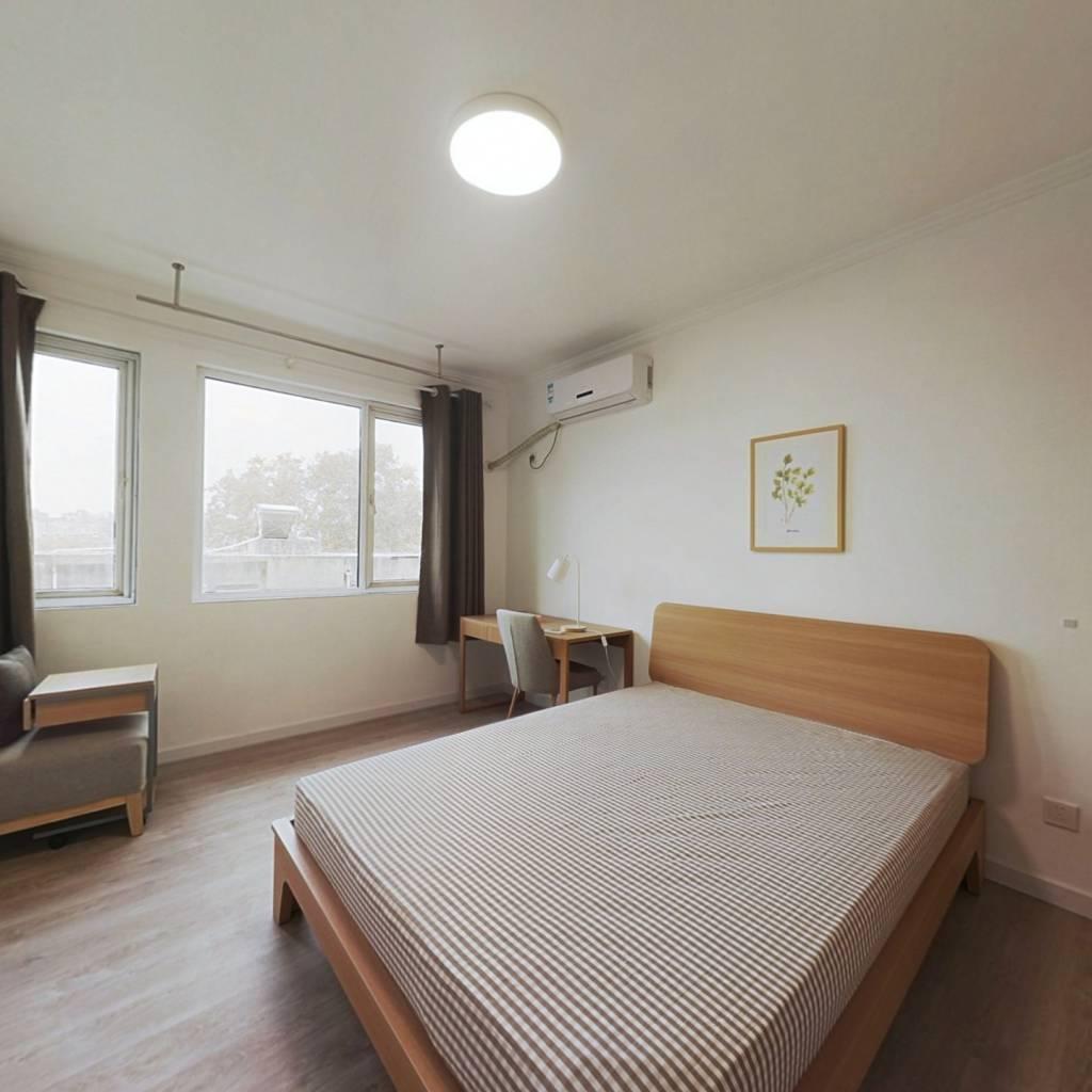 合租·能仁里1号 3室1厅 西卧室图