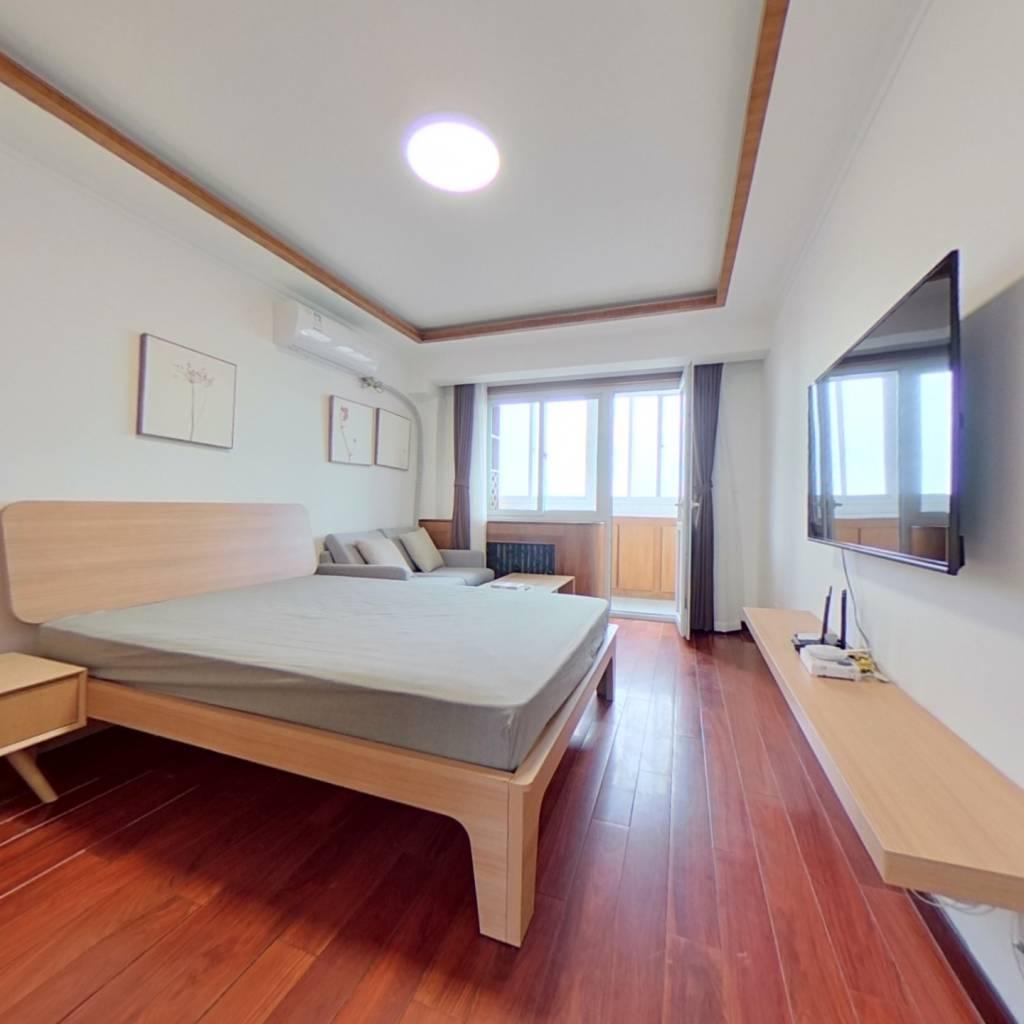 整租·西直门南大街 2室1厅 东南卧室图
