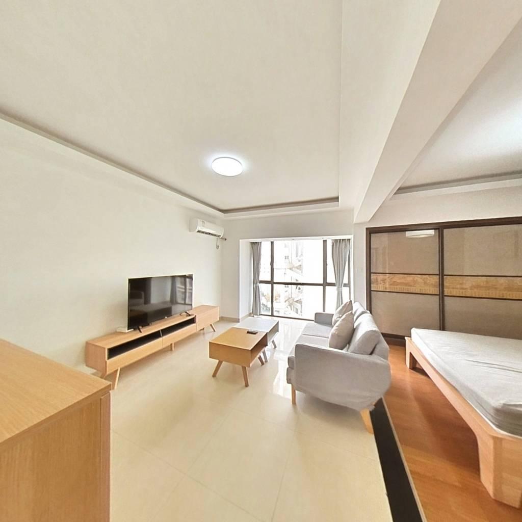 整租·青年城邦园 1室1厅 南卧室图