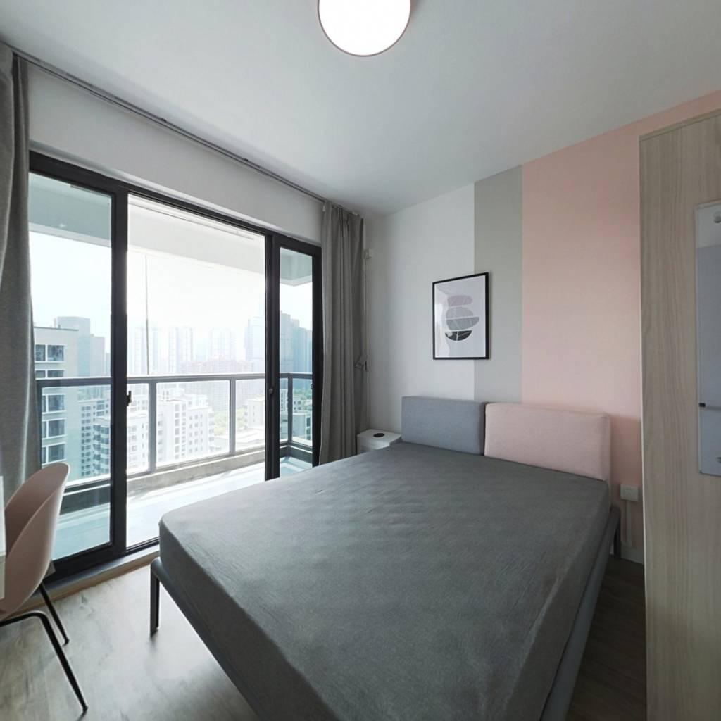 合租·钱江二苑 3室1厅 南卧室图