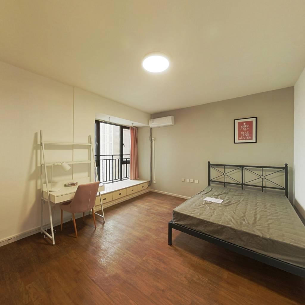 合租·瑞升望江橡树林二期 4室1厅 南卧室图
