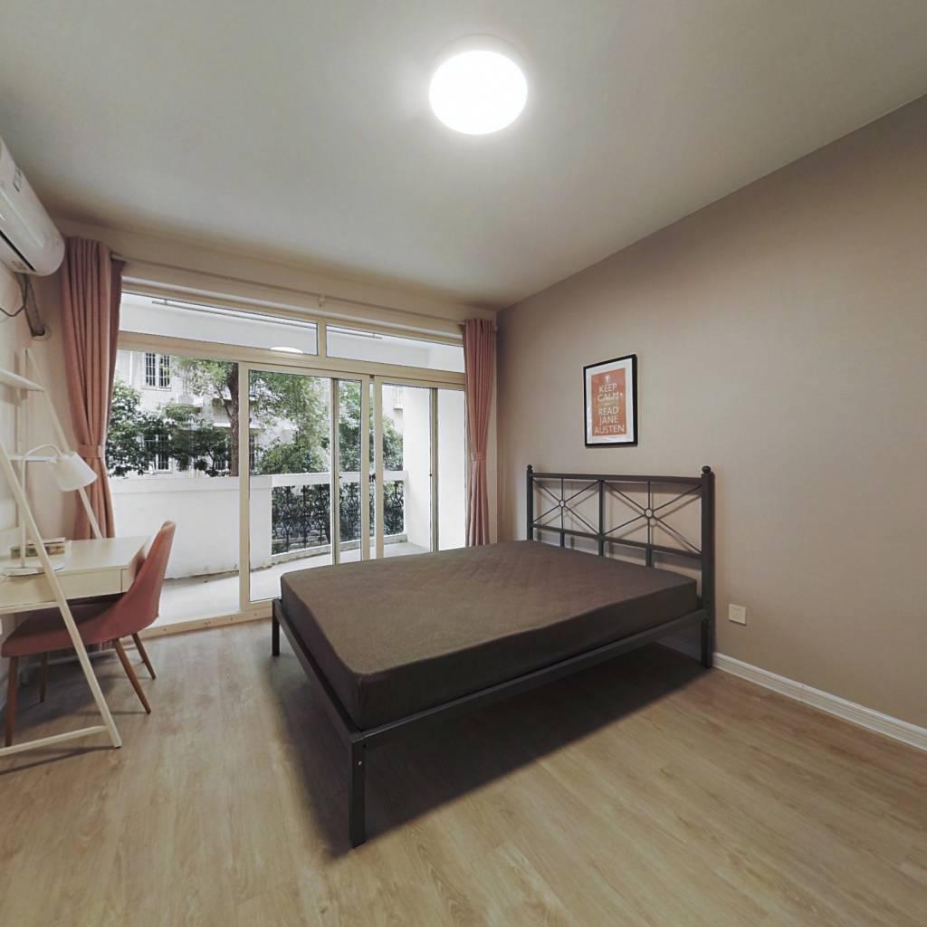 合租·蓝天城市花园 4室1厅 北卧室图