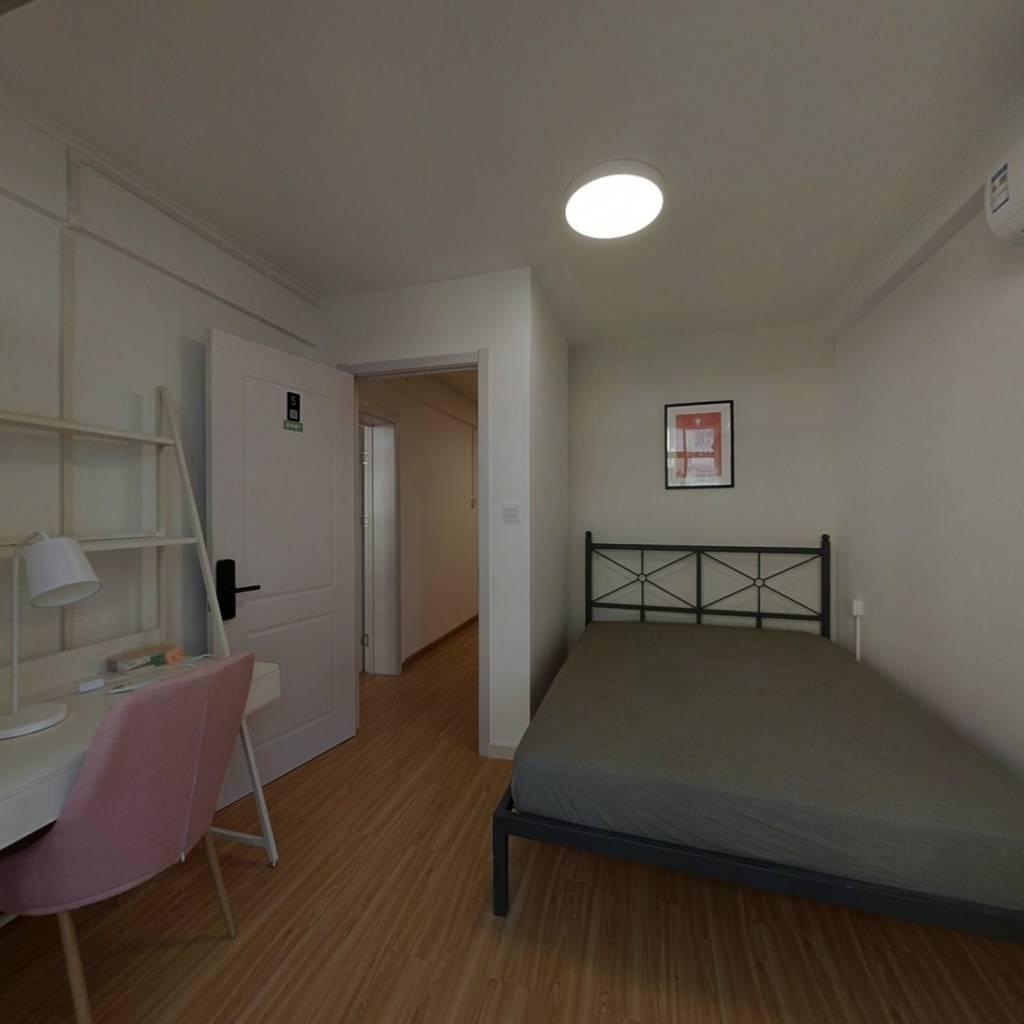 合租·华银城 4室1厅 北卧室图
