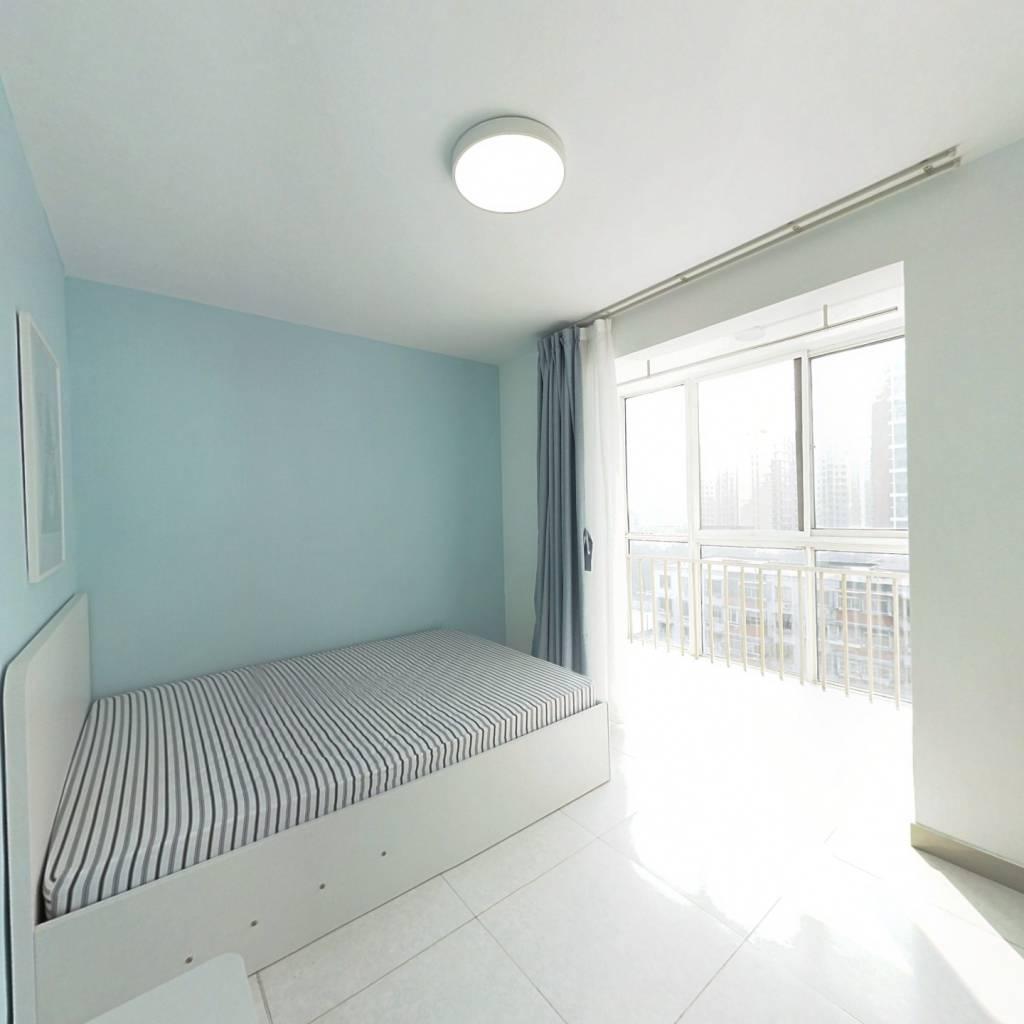 整租·芳泽园 1室1厅 南卧室图