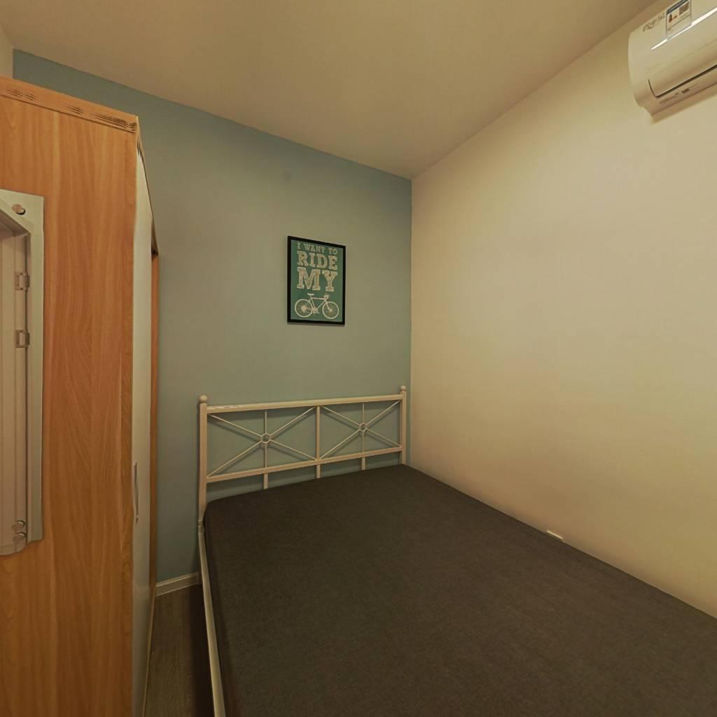 合租·鲁能公馆 3室1厅 东卧室图