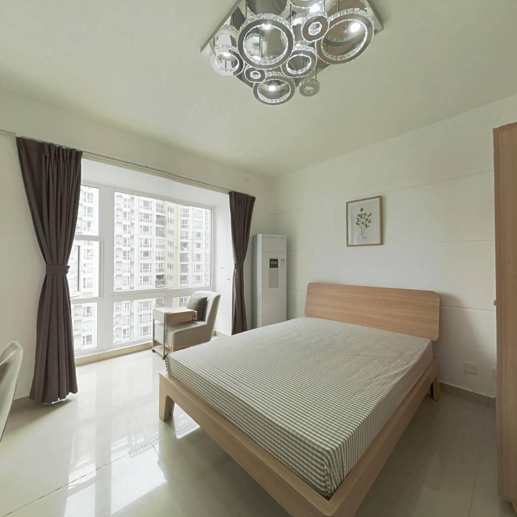 合租·世纪朝阳 3室1厅 东南卧室图