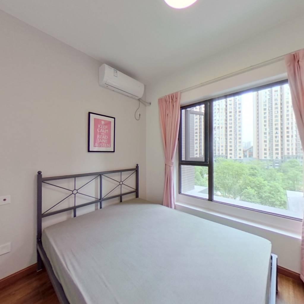合租·成华奥园广场二期 4室1厅 东北卧室图