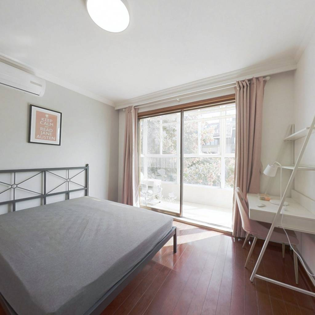 合租·莱茵东郡 4室1厅 北卧室图