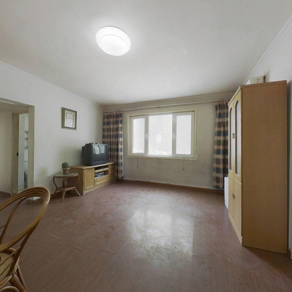 卧龙低层南北两居室 全明格局 户型方正