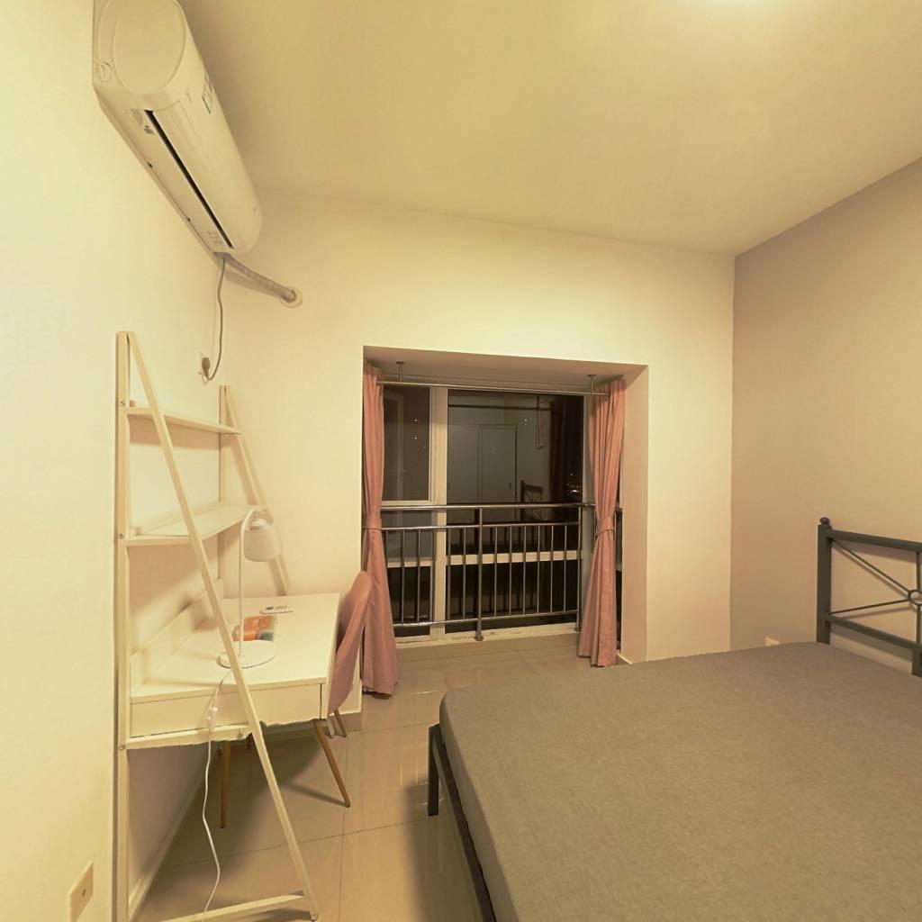合租·世家东部时空 3室1厅 南卧室图