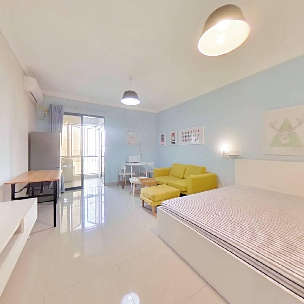 整租·纵横国际公寓 1室1厅 北卧室图