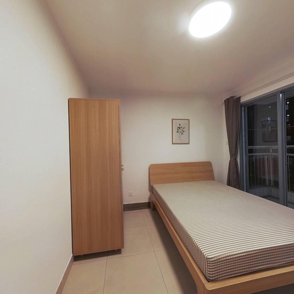 合租·中海康城 4室1厅 南卧室图