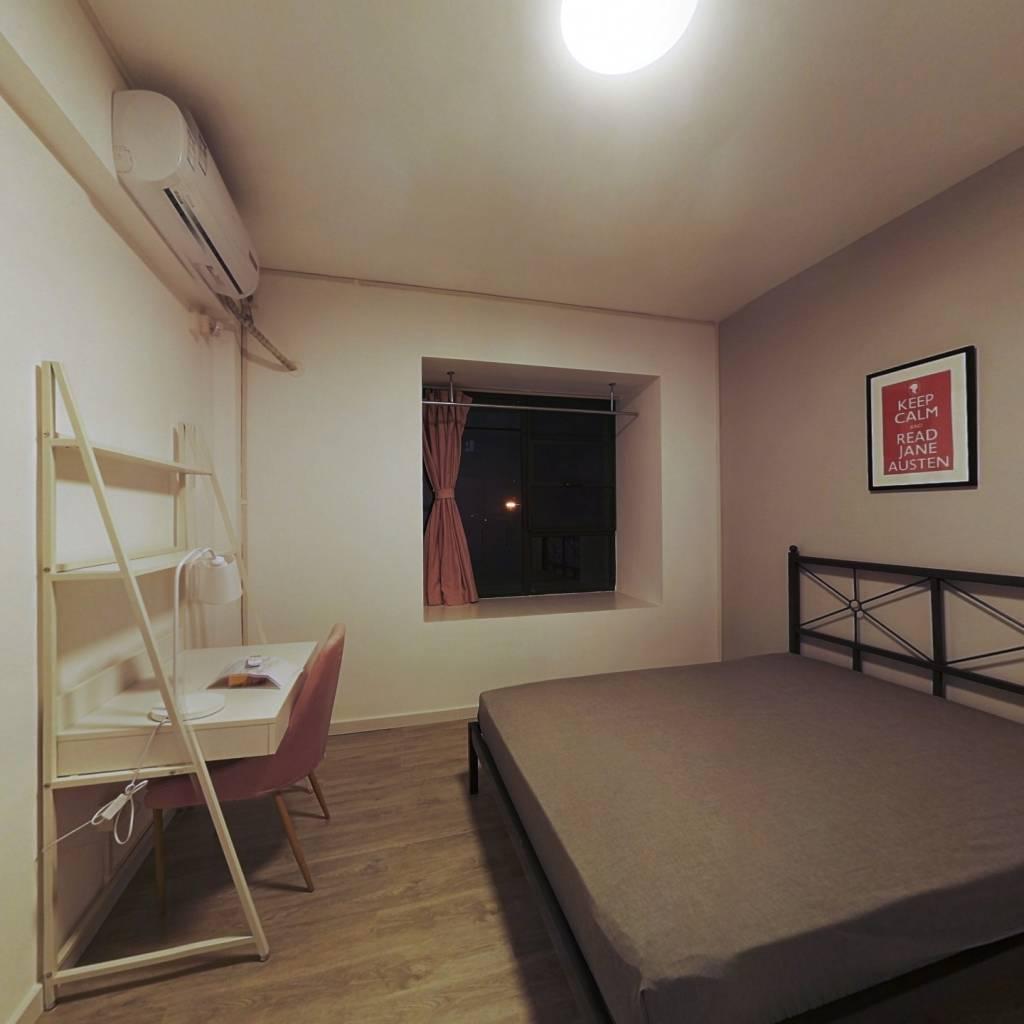 合租·绿地汉口中心 4室1厅 南卧室图