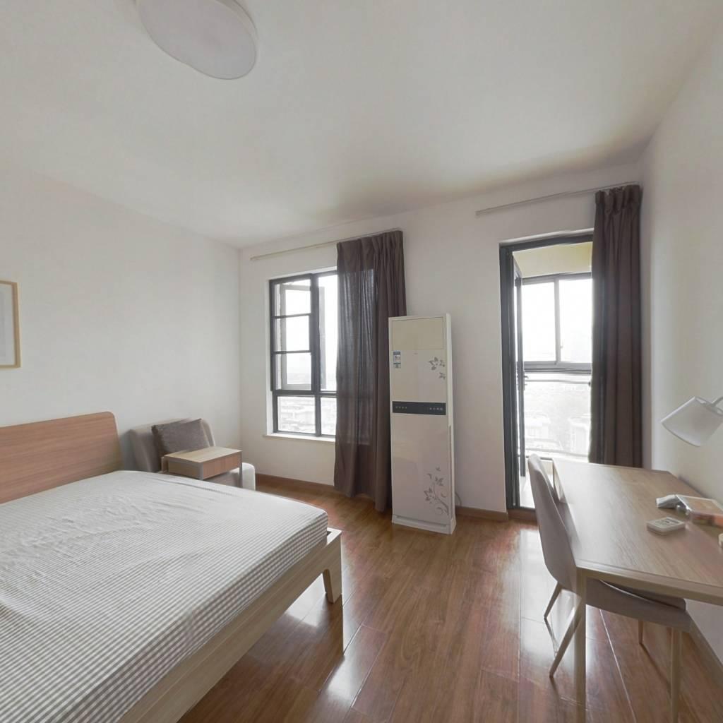 合租·复地东湖国际四期 4室1厅 南卧室图
