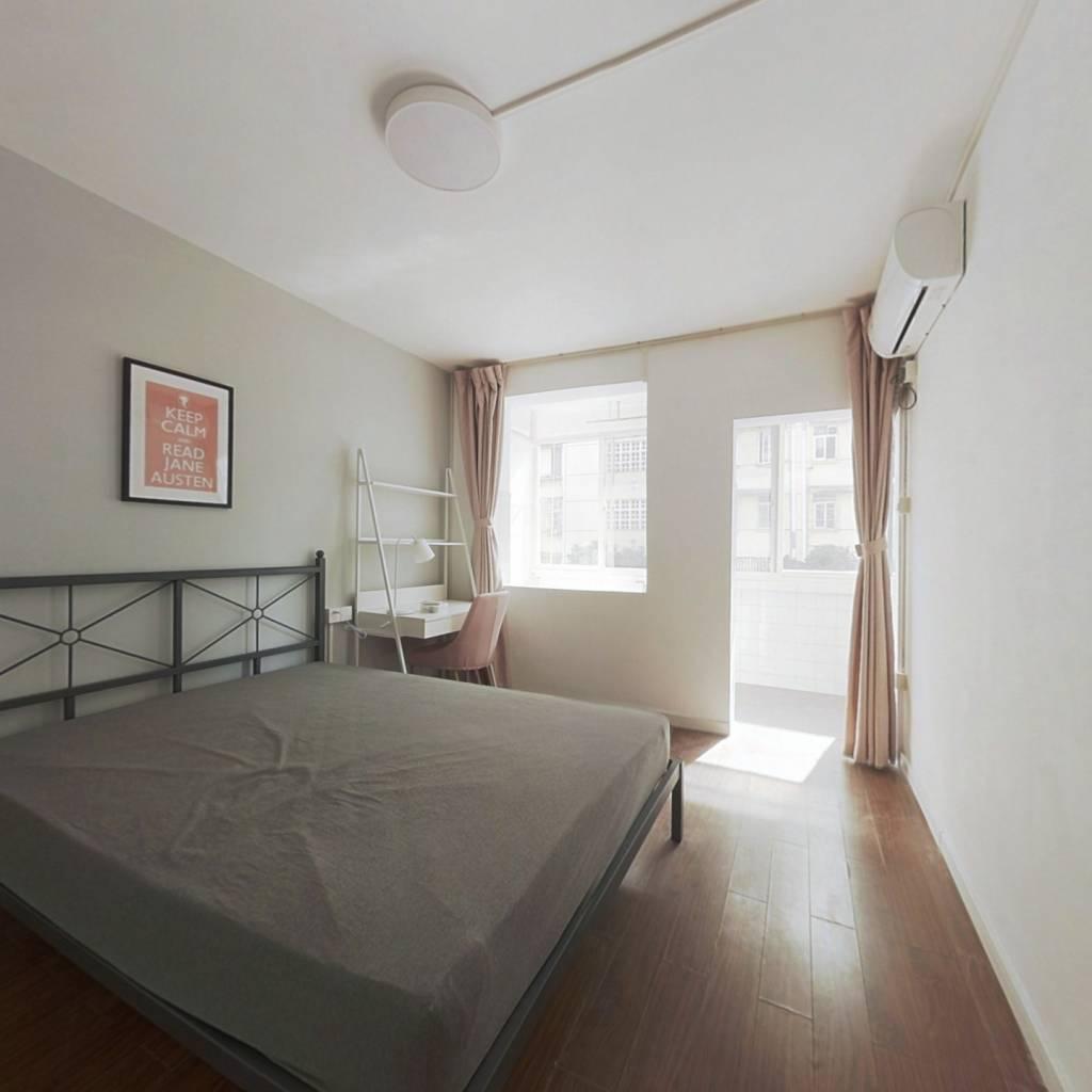 合租·景芳三区 4室1厅 南卧室图