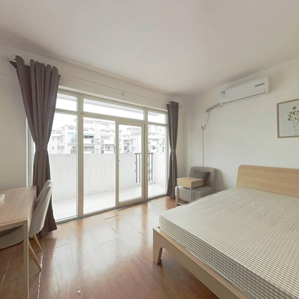 合租·光华馨地 3室1厅 南卧室图