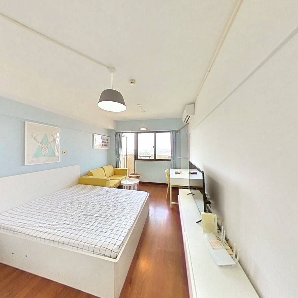整租·开元地中海 1室1厅 北卧室图