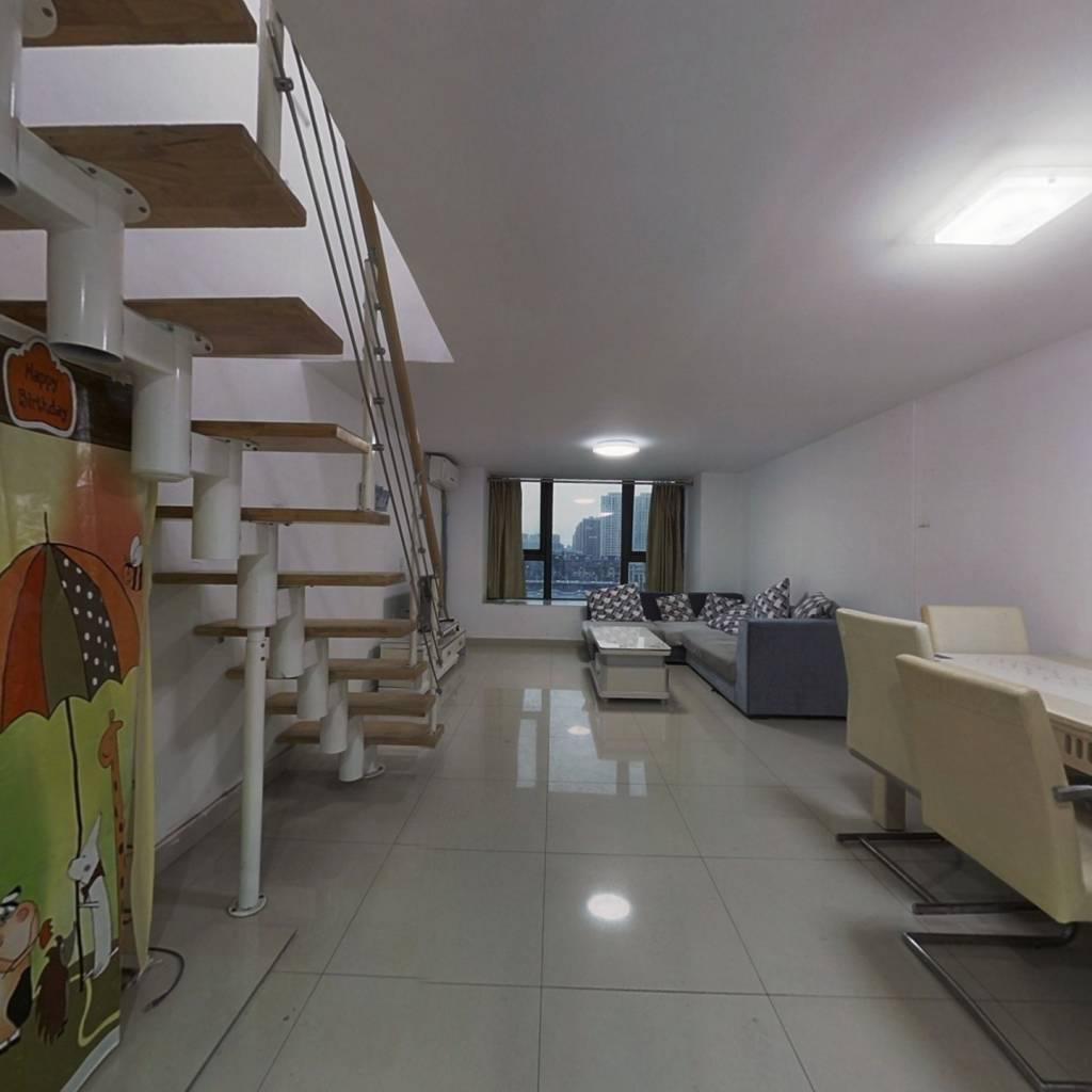 睿峰复式公寓 环境优雅 配套成熟 家具家电全留