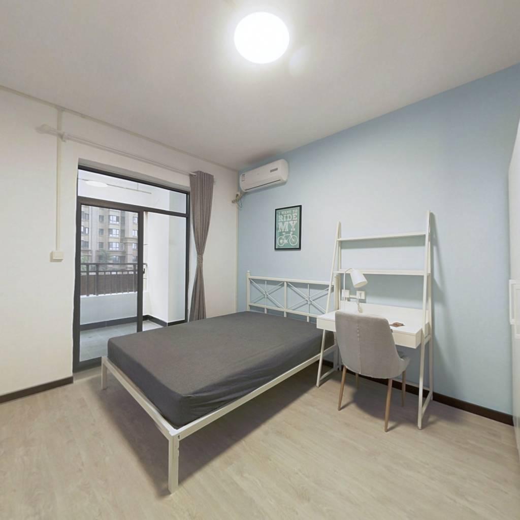 合租·汉口城市广场五期 4室1厅 南卧室图