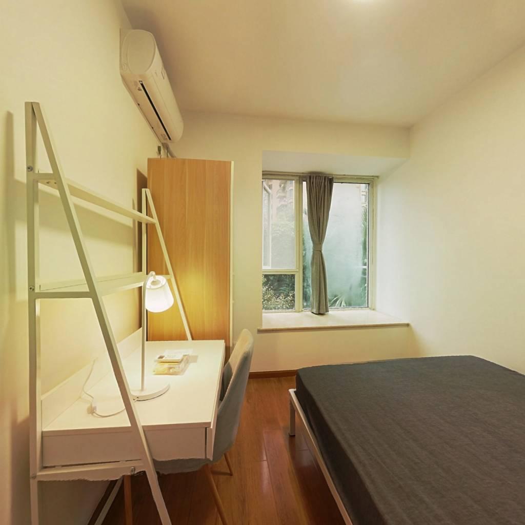 合租·比华利国际城二期 4室1厅 北卧室图
