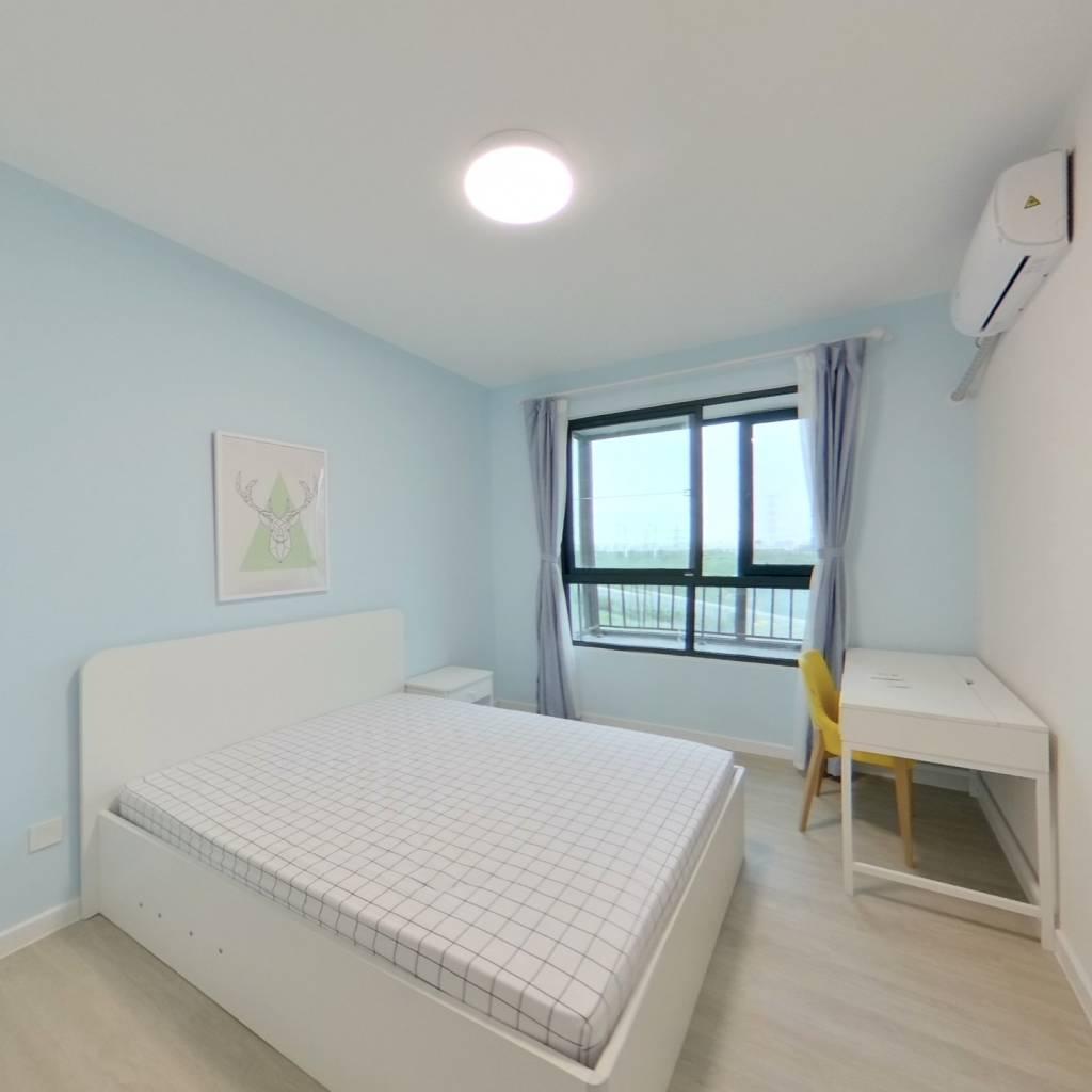 整租·绿洲康城亲水湾(中央区) 1室1厅 卧室图