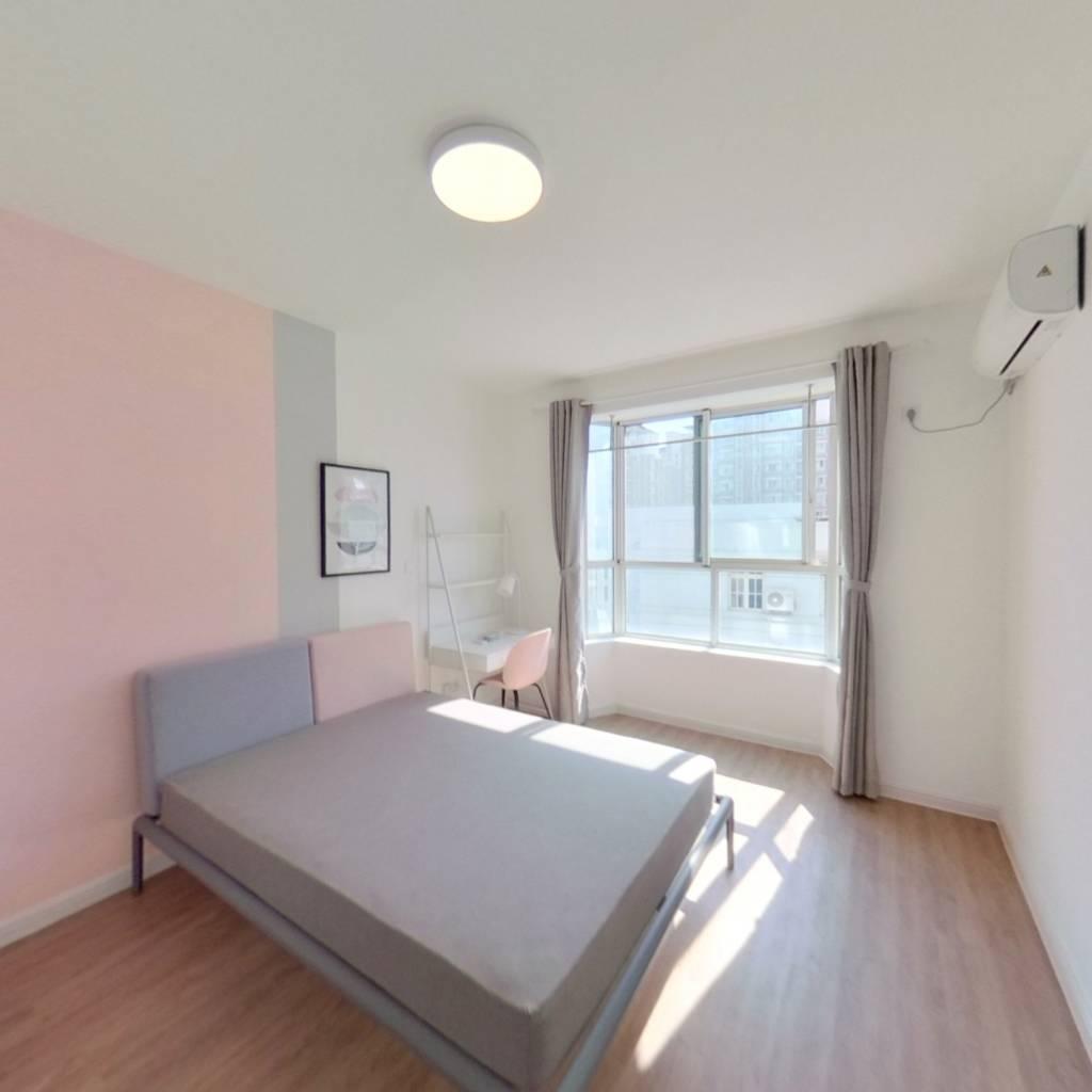 合租·绿水家园 4室1厅 南卧室图