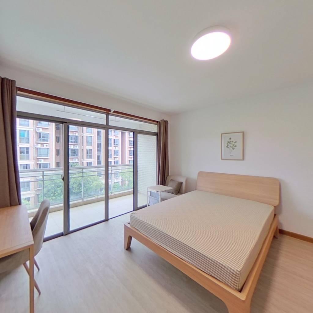 合租·桃李家园 3室1厅 北卧室图