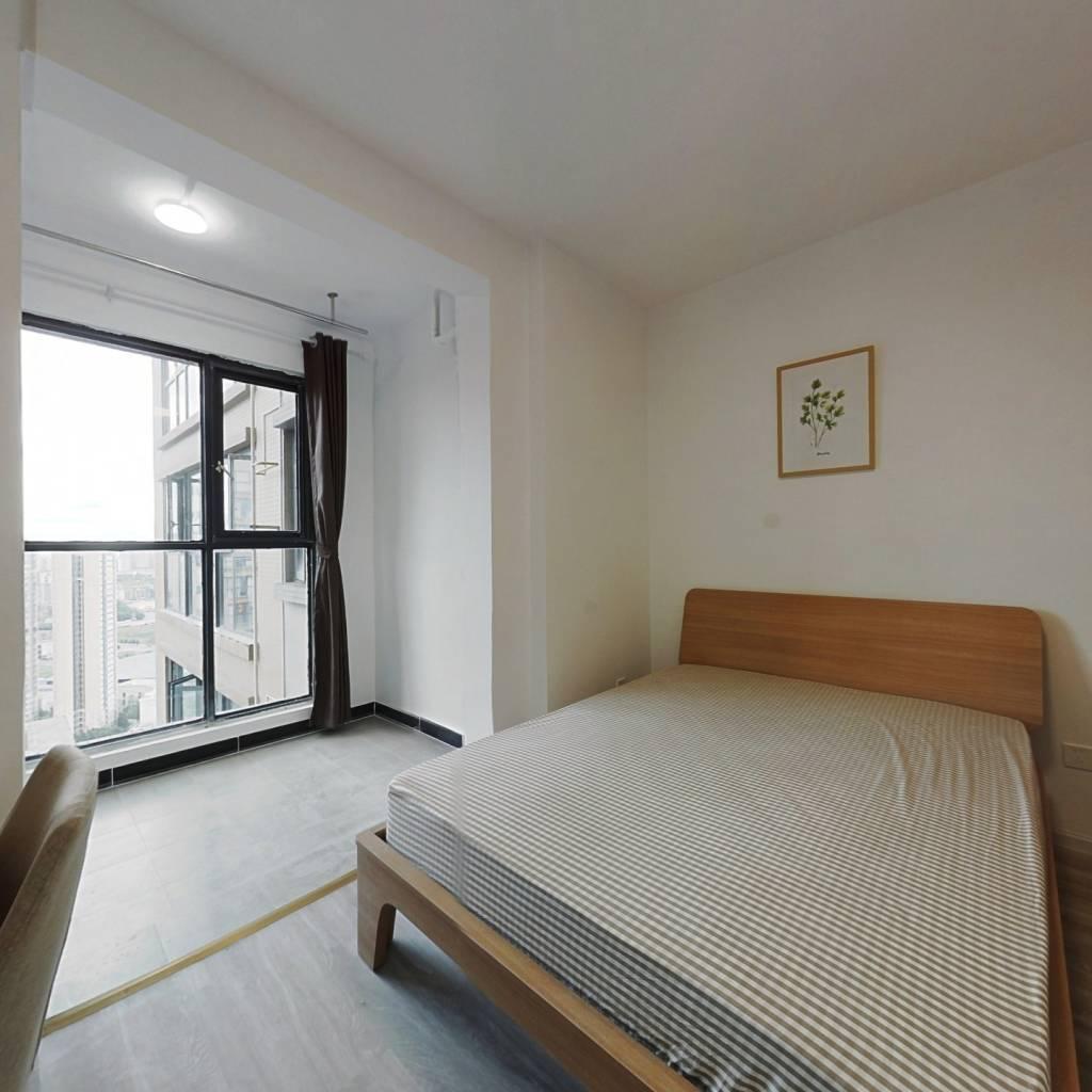 合租·明信鹭湾 4室1厅 西卧室图