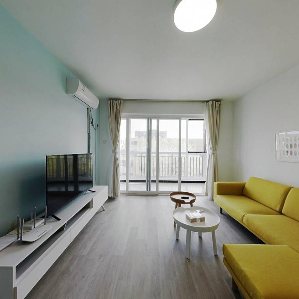 整租·观景园 2室1厅 南北卧室图