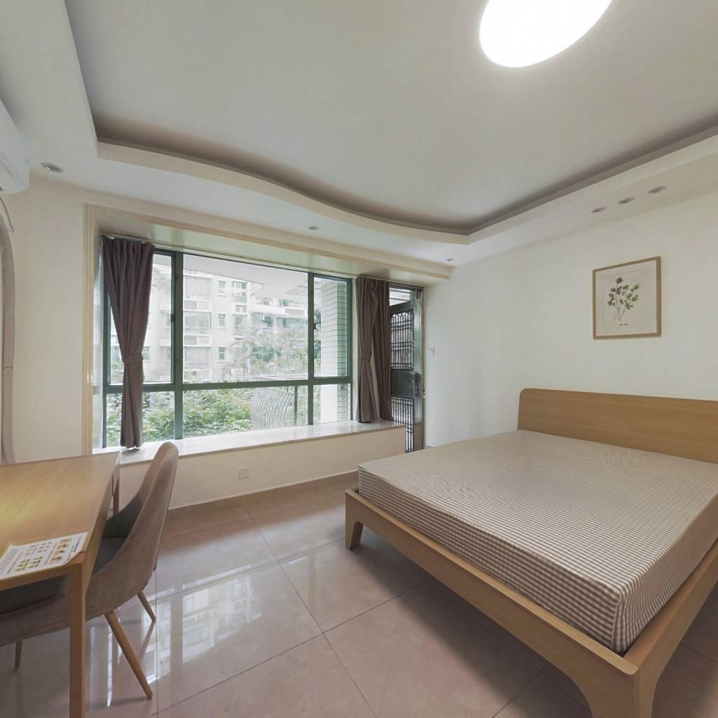 合租·星海名城一期三组团 5室1厅 西卧室图