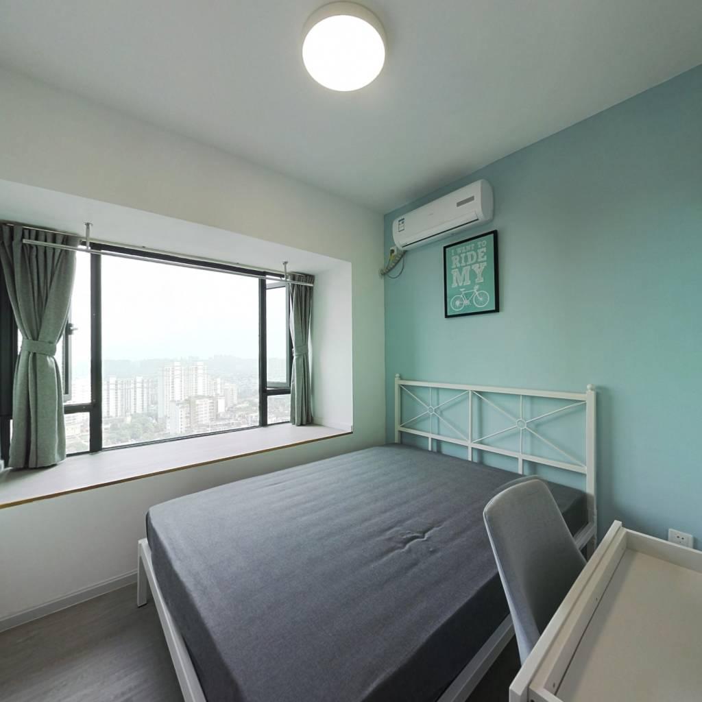 合租·海伦印象 4室1厅 东南卧室图