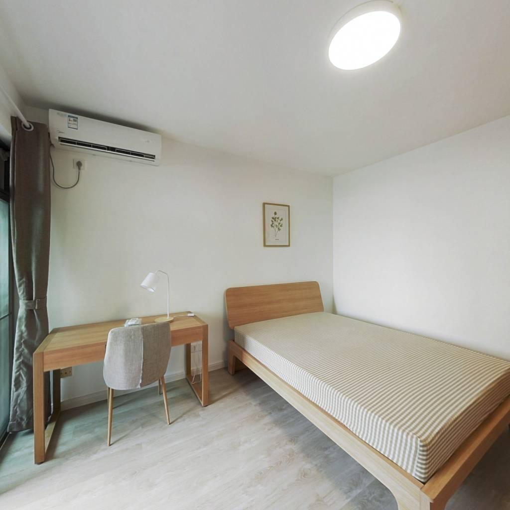 合租·翠湖山庄 4室1厅 西卧室图