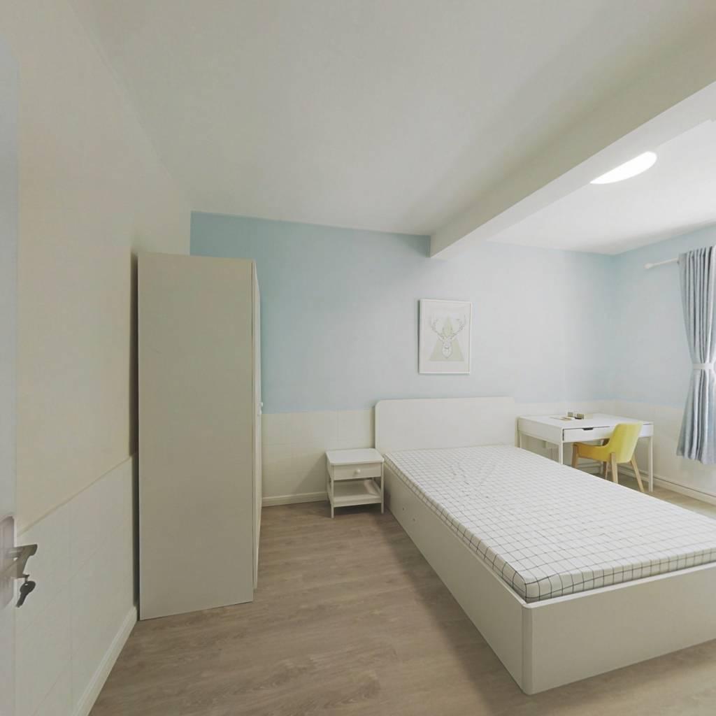 整租·长白三村 1室1厅 南卧室图
