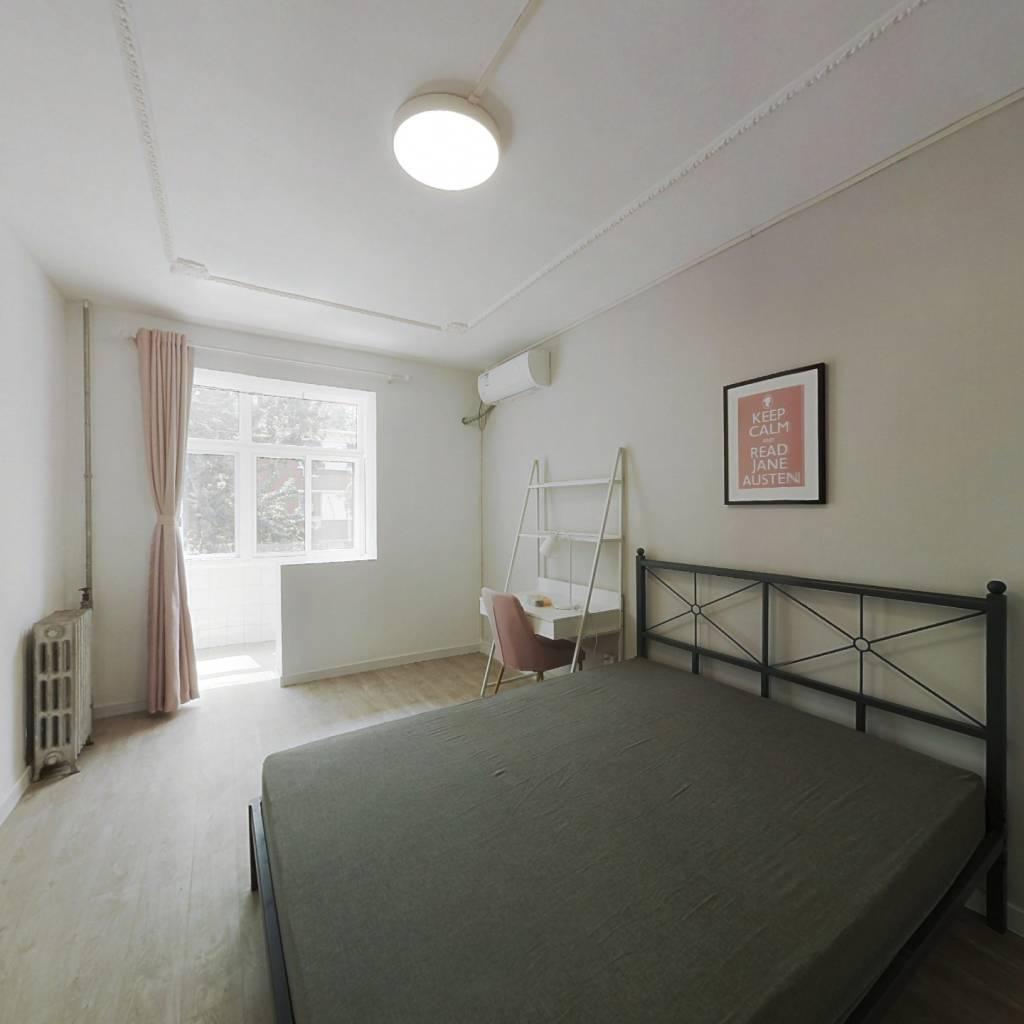 合租·酒仙橋十一街坊 3室1廳 南臥室圖