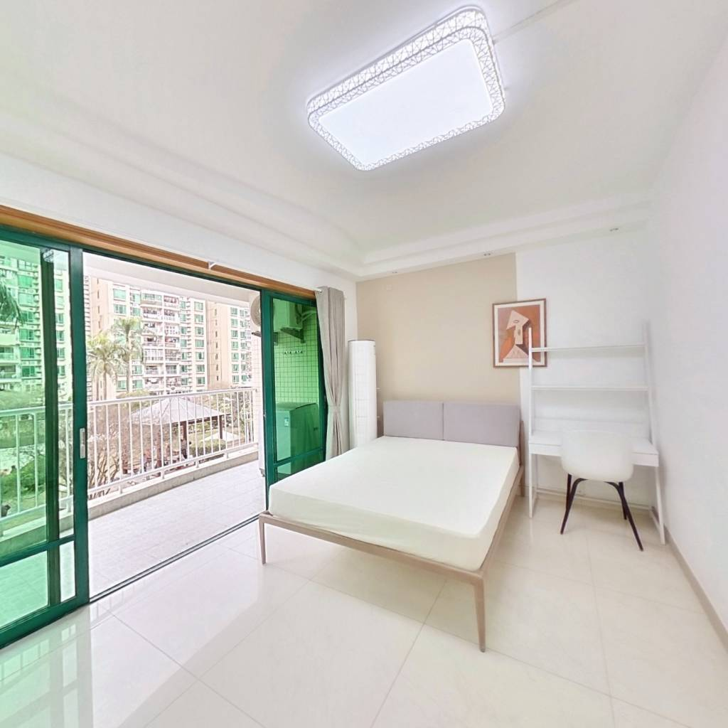 合租·中南花园 5室1厅 西南卧室图